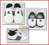 Женская фитнес-обувь Junior & Senior TKD / Kickboxing / JKD / Sports Training Shoes / Trainer Size 27-43 Unisex