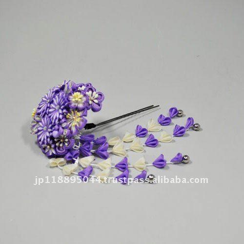 Accesorios para el cabello hecho en japon rico adorno para el pelo de lujo de alto
