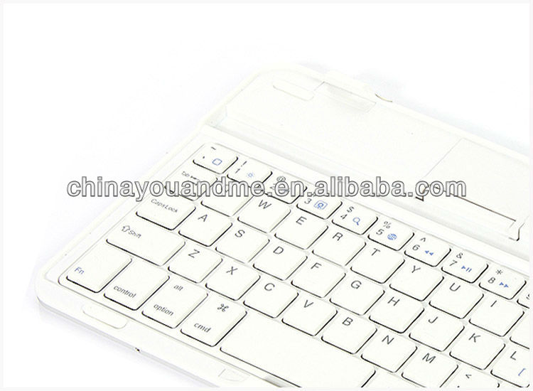 Popular detachable bluetooth keyboard case for ipad mini