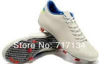 Free Shipping 2pairs per lot Best Outdoor Soccer Shoes for Men's Adult Boots Black/Purple/Red/White/Yellow/Green/Mango/Blue New