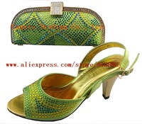 HOT SELL!!!Free Shipping   2012 NEW ARRIVAL !!! rhinestone shoes with bags
