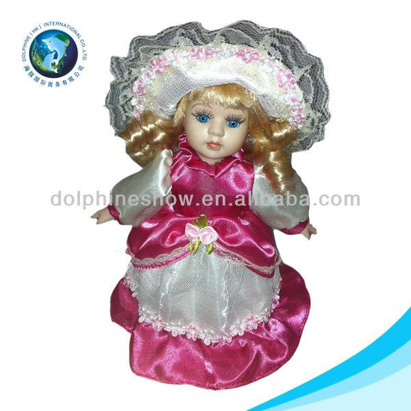 Beautiful porcelain doll