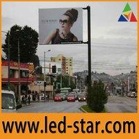 Светодиодный рекламный экран ph10 indoor full color advertising led message sign