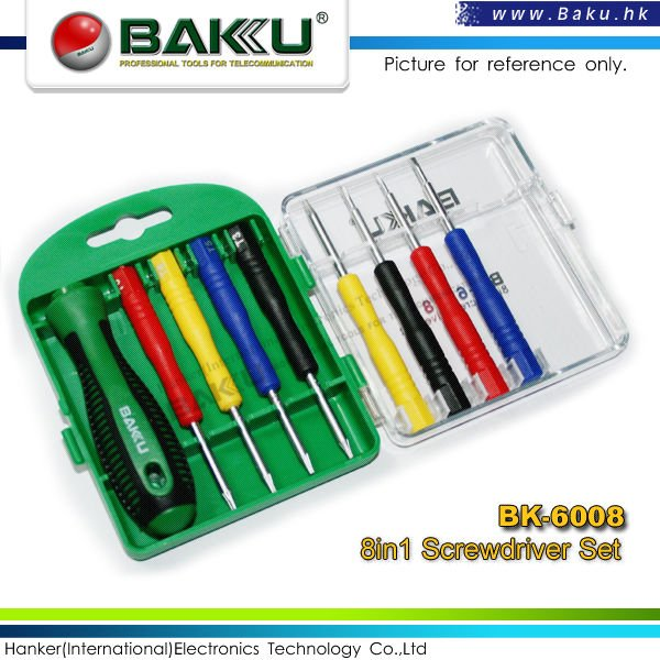screwdriver set 6008-01