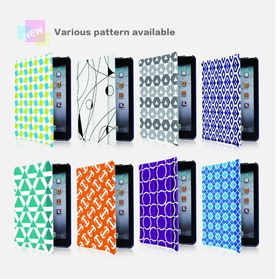 PU Leather Case For ipad mini, for mini ipad, for ipad mini smart cover case