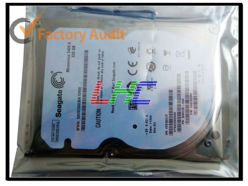 320GB SATA 2.5 Inch laptop Hard Drive with good price