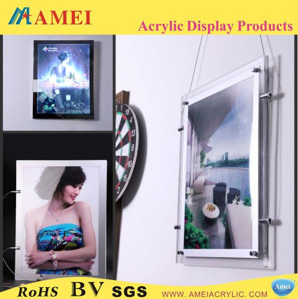 A0/A1/A2/A3/A4 transparent led light frame
