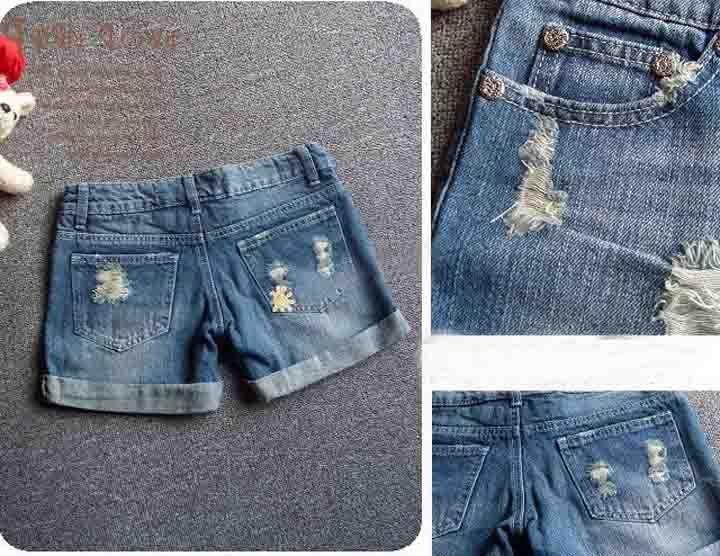 Шорты джинсовые женские из джинсов своими руками 76