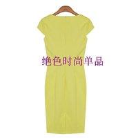 Женское платье 2012 new summer women dress fashion dresses Pencil dress S M L