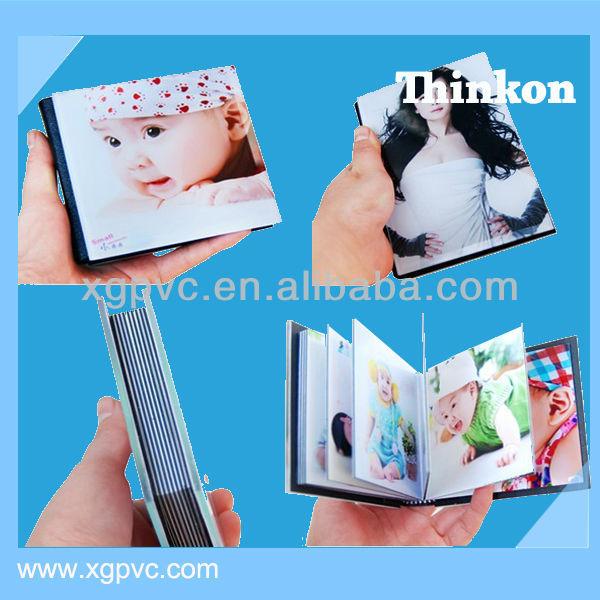 0.3-1.5mm thin PVC sheet for photo album