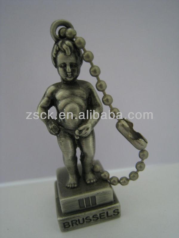 vivid Belgium manneken pis metal sculpture
