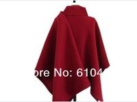 Qiu dong outfit new han edition 13 female aristocratic temperament is the red cloth coat coat cape cape overcoat