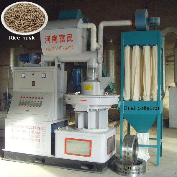 Machine A Granule De Bois - Petit bois moulin de granule, Petite machineà granulés de bois Presse de tourteauà bois ID de