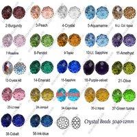 Бусины 500 pcs Rondelle style crystal beads 5040-12mm