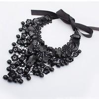 Колье-ошейник fashion graceful noble necklace jewelry for women X4899