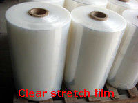 Highly stretchable clear pallet wrap PE plastic stretch film