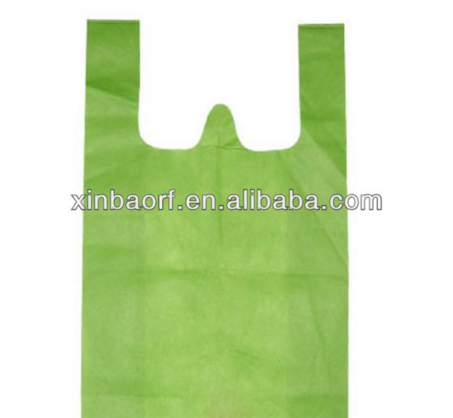 Cheap HDPE T-shirt Packaging Shopping Bag