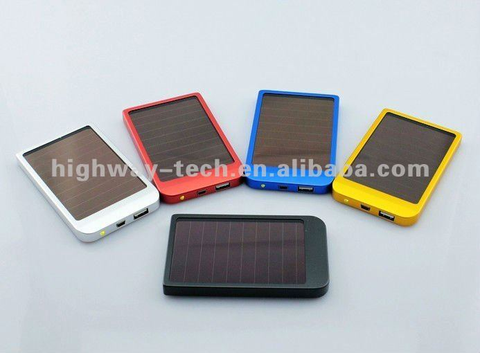 Solar chargers for mobile phones