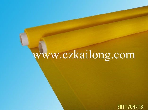 DPP32-168, high tension and low elongation, 100% polyester screen printing mesh
