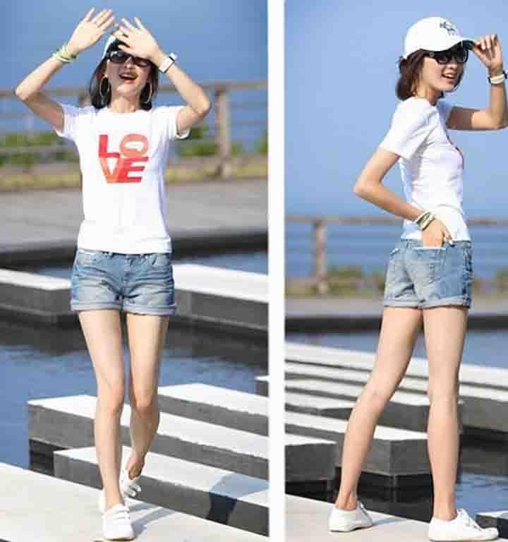 Короткие джинсы с доставкой