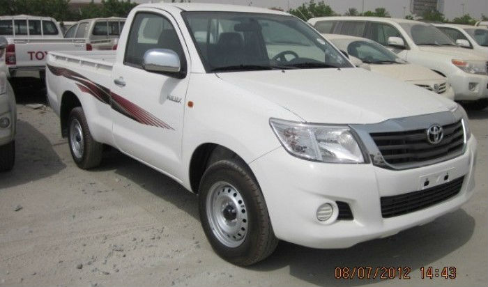 TOYOTA HILUX 2.0 L PETROL ENGINGE 2013 MODEL SINGLE AND DOUBLE CABIN PICKUP BRAND new FOR SALE