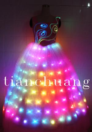 Dress/Light Up Show Dress, View Bride Dress/Wedding Dress/Light Up ...
