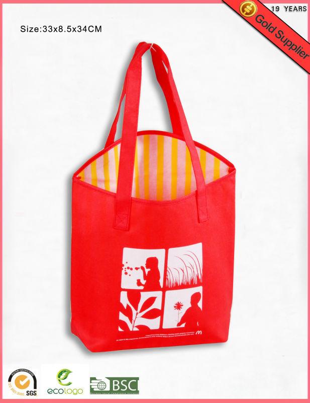 Fashion pp non woven shopping bag