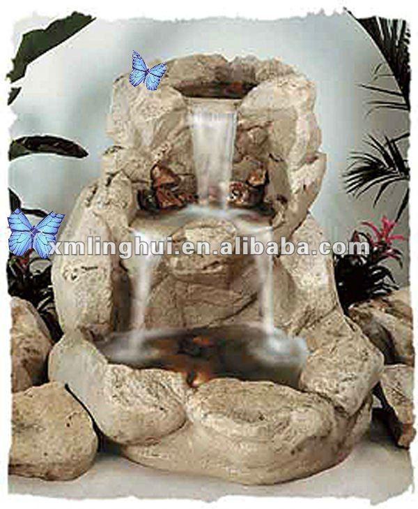 fontes de agua para decoracao de interiores : fontes de agua para decoracao de interiores:Grande Fonte de Água de Pedra-Outros enfeites e adornos de água para