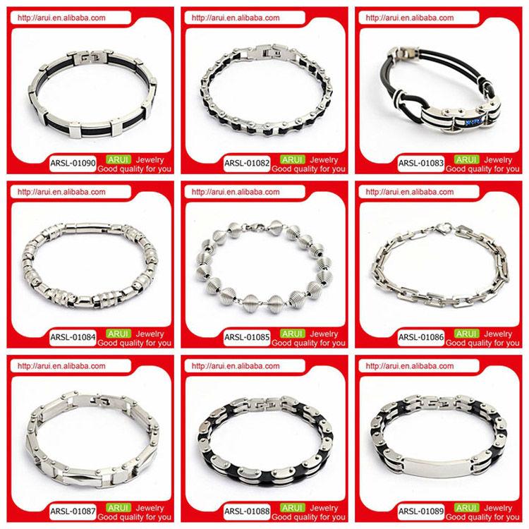 Europe Popular silver jewelry bracelet