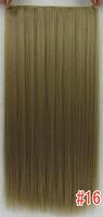 "Волосы для наращивания High temperature matt, the latest 5 clips straight in on hair extensiosn, 22"" 120g! #30B dark copper red"