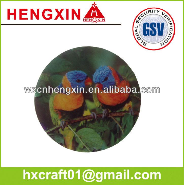 Custom 3D rubber fridge magnet HX233