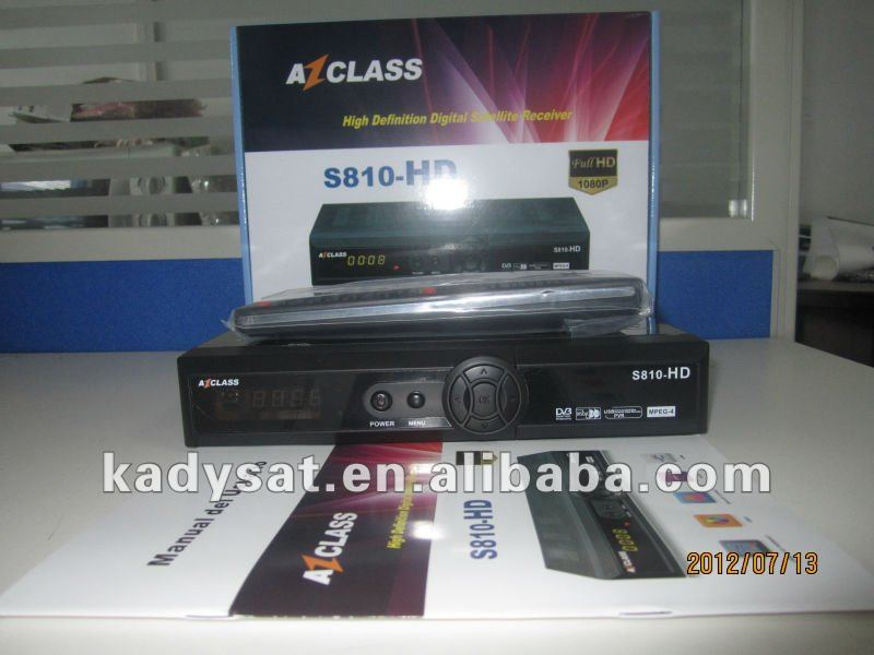 AZ class s810-hd Nagra 2& Nagra 3 satellite receiver suooprt Ibox donge with nagra 2 patch