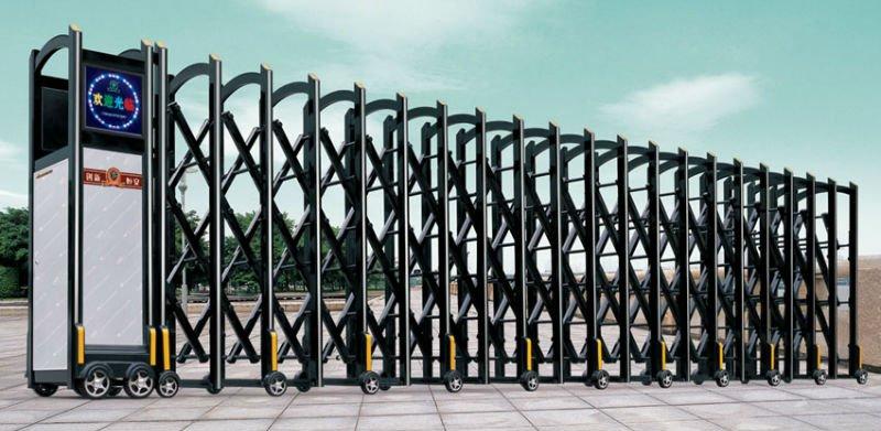 desain pintu gerbang lipat: Lipat desain gerbang utama untuk pabrik pintu masuk gerbang id