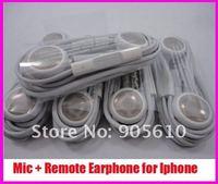 Наушники 3.5mm earphone/headphone with MIC Remote Volume Control for iphone