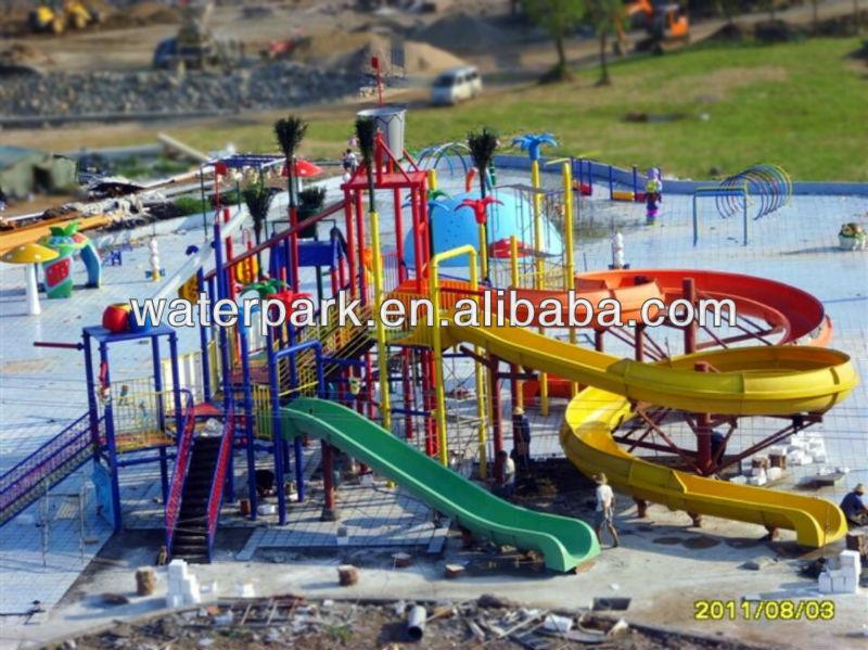 Model Water Park Water Park Equipment in