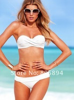 2013 Women Sexy Padded Push Up Swimwear Bikini Set (XS/S/M/L), Women VS Swimsuits, 5 Colors Free Shipping
