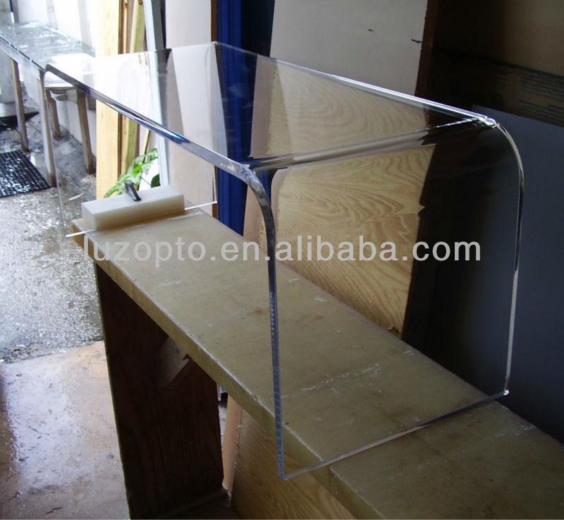 transparent acrylique table basse table basse id de. Black Bedroom Furniture Sets. Home Design Ideas