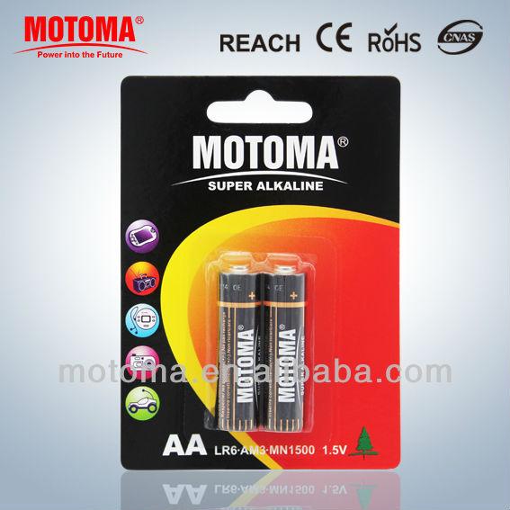 alkaline battery LR6 AA 1.5V dry battery