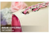 Маленькая сумочка 2013 spring summer one shoulder messenger bags women Pearl cap shape female bag Korea New chain handbags