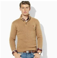 Мужской пуловер low price HOTSALE! Polos men's Pullovers sweater 100% cotton