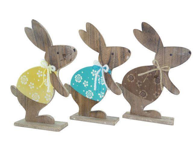wood easter bunny 2