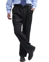 Мужские штаны 2013 Men's Pant, Leisure Straight Canister, Trousers, Casual Pants Black Size:S~XXL MJ47