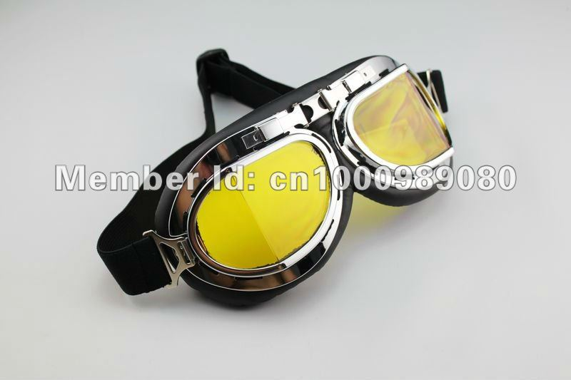 motorcycle goggle Aviator Pilot Cruiser Motorcycle Scooter ATV Goggle Eyewear T08A  motocross part