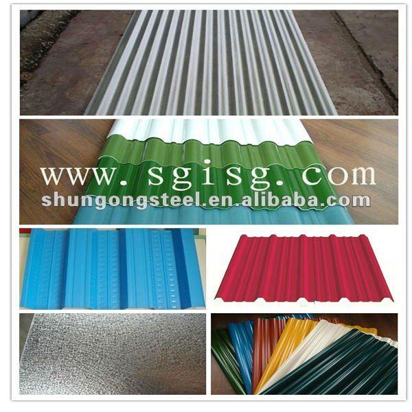 corrugated aluminum roofing