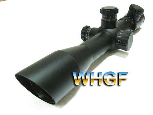 4-12x40 M4 Red&Green illumination Mil-Dot Rifle Scope/Riflescope