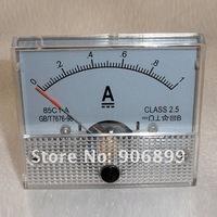 Измеритель величины тока 1A DC AMP Analog Current Panel Meter Ammeter 0-1A