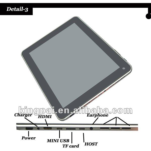 2012 newest 9.7 inch 1gb/16gb tablet pc allwinner a10 cortex A8 capacitive android 4.0 WIFI HDMI alibaba wholesale