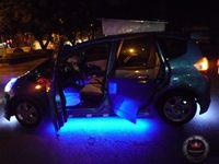 Товары на заказ RGB Under car led lights Car Glow Flexible auto led under car lights with Remote Control ship by DHL