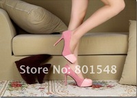 Туфли на высоком каблуке High heel shoes sexy elegant connection designer shoes lovely platform shoe T0094