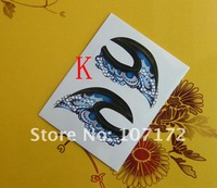 CPAM 100 pcs Mix 14 models eyeliner sticker shadow stick cigarette smoked eye sticker temporary tattoos New listed